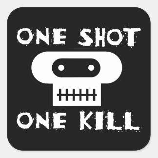 One Shot: One Kill Stickers