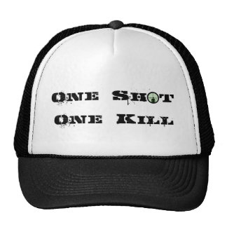 One Shot, One Kill Trucker Hat