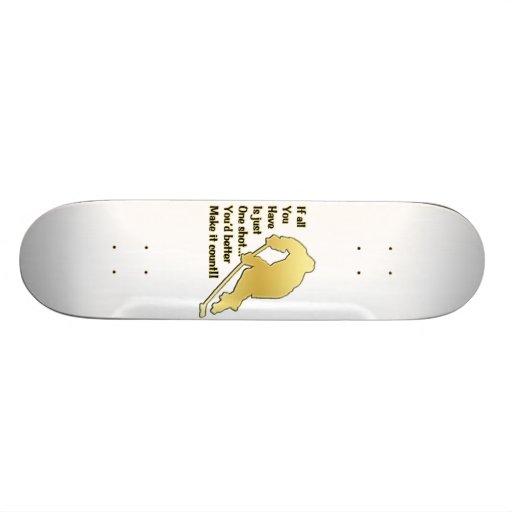 One Shot Skateboard