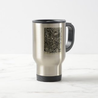 One-Sided Competition, by Brian Benson Travel Mug