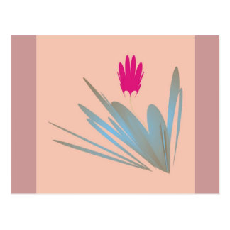 One single desert flower Gift products Postcard