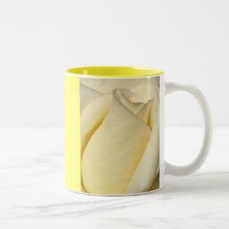 One Single Rose_ Two-Tone Coffee Mug