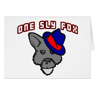 One Sly Fox So Cool Card
