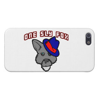One Sly Fox So Cool Case For iPhone SE/5/5s