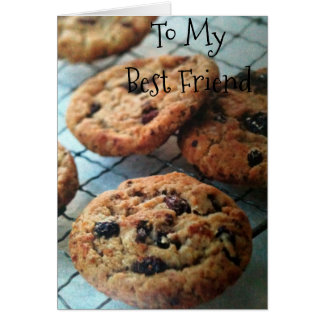 ONE SMART COOKIE *BEST FRIEND*-BIRTHDAY CARD