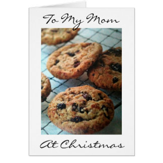 ONE SMART COOKIE MOM=MERRY CHRISTMAS CARD