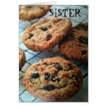 ONE SMART COOKIE SISTER-BIRTHDAY GREETING CARD
