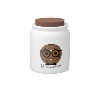 One Smart Cookies Candy Jars