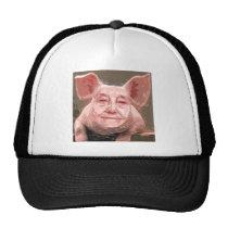 One Smart Pig Trucker Hat