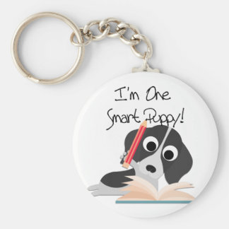 One Smart Puppy Key Chain