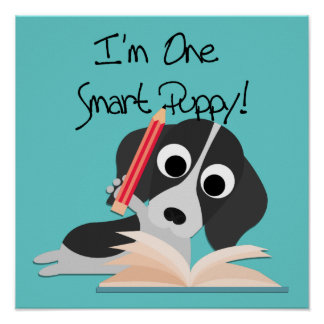 One Smart Puppy Poster
