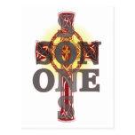 One Son Cross Card