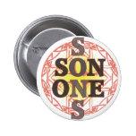 One Son Pinback Button
