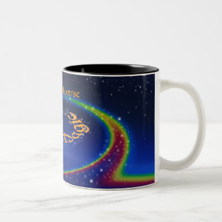 One Song UniVerse~The Magic of Love Two-Tone Coffee Mug
