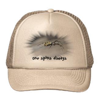 one spins always cap trucker hat