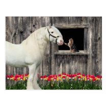 """One Spring Morning"" Postcard"