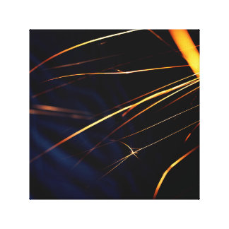 One Square of Sparks Canvas Print