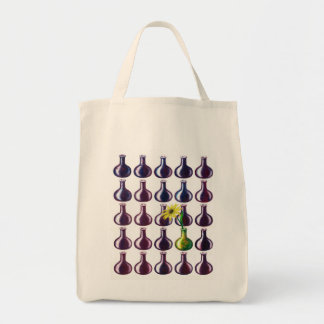 One Stands Out Grocery Tote Bag