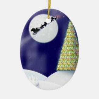 One Starry Night Christmas Tree Ornament