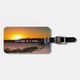 One Step at a Time Luggage Tag