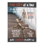 one step | mini-print custom announcements