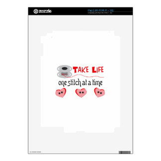 ONE STITCH AT A TIME SKINS FOR iPad 2