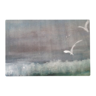 One Stormy Day/Reverse/Pink Sunset Placemat