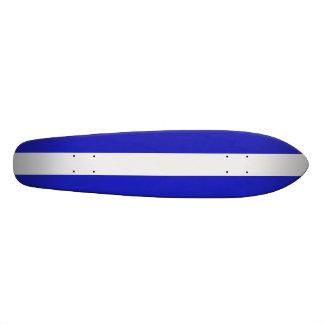One Stripe Longboard Skateboard Deck