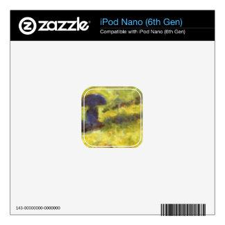 One Sunday on La Grande Jatte, draft by Seurat Skins For iPod Nano 6G