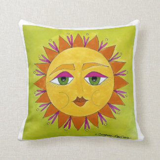One Sunny Disposition ~ Cotton MoJo Cushion