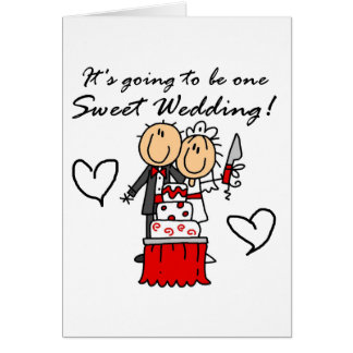 One Sweet Wedding T-shirts and Gifts Card