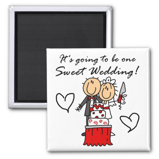 One Sweet Wedding T-shirts and Gifts Magnet
