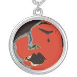One Tear, Art Necklace Custom Jewelry