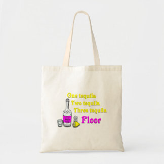 One Tequila Two Tequila Three Tequila Floor #2 Canvas Bag