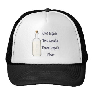 One tequila Two tequila Three tequila Four Trucker Hat