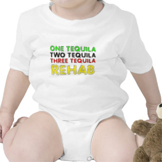 One Tequila Two Tequila Three Tequila Rehab T-shirt