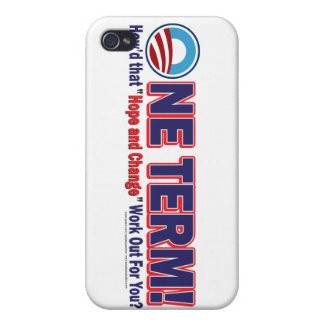 One Term How d That Hope And Change Work Out Cases For iPhone 4