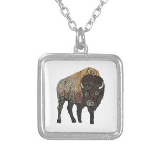 ONE THAT ROAMS SQUARE PENDANT NECKLACE