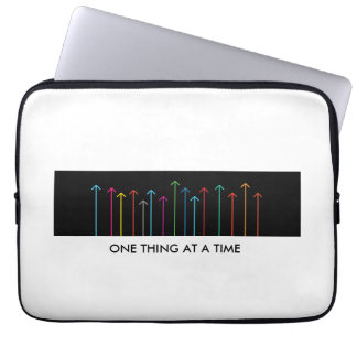 ONE THING AT A TIME LAPTOP SLEEVE