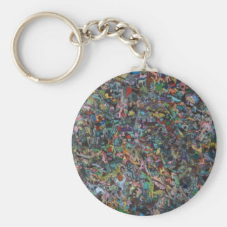 One Thousand Adventures Murals Key Chain