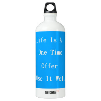 One Time Offer Aluminum Water Bottle