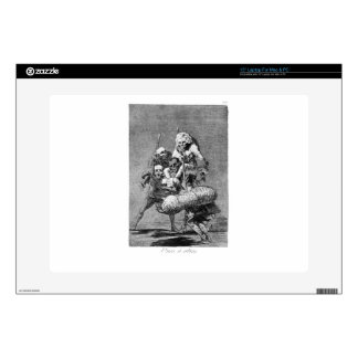 """One to anothers by Francisco Goya Skin For 15"""" Laptop"""