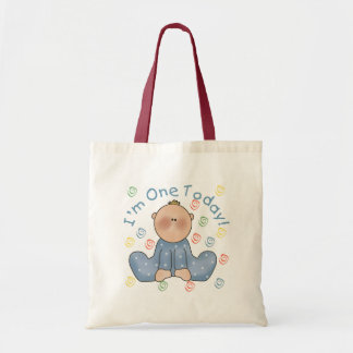 One Today Boy Birthday Tshirts and Gifts Tote Bags