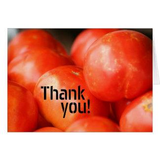 One Tomato, Two Tomato card