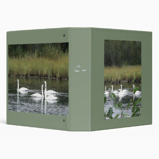 """One Touch EZD™ Ring Avery  1.5"""" Binder w/ swans"""
