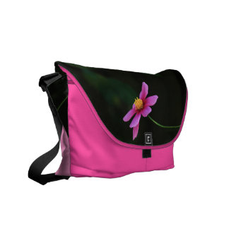 One touch of Flower: Cosmos Courier Bag