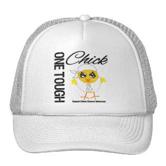 One Tough Chick Bone Cancer Warrior Trucker Hat