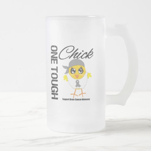 One Tough Chick Brain Cancer Warrior Mug