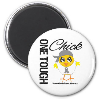 One Tough Chick Brain Tumor Warrior Magnet