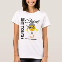 One Tough Chick Brain Tumor Warrior T-Shirt